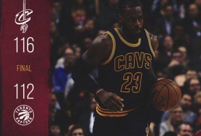 Em jogo emocionante, Cavaliers vencem Raptors em Toronto - The Playoffs
