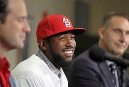 Dexter Fowler se apresenta e explica por que escolheu Cardinals - The Playoffs