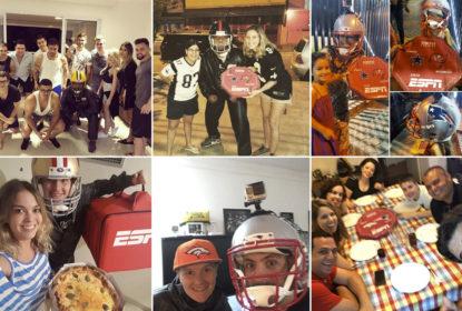 Ação da ESPN surpreende fãs de NFL com uma entrega diferenciada de pizzas - The Playoffs