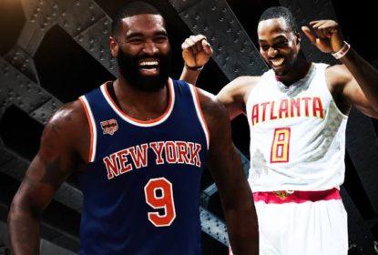 Na prorrogação e com Carmelo Anthony ejetado, Hawks vencem Knicks - The Playoffs