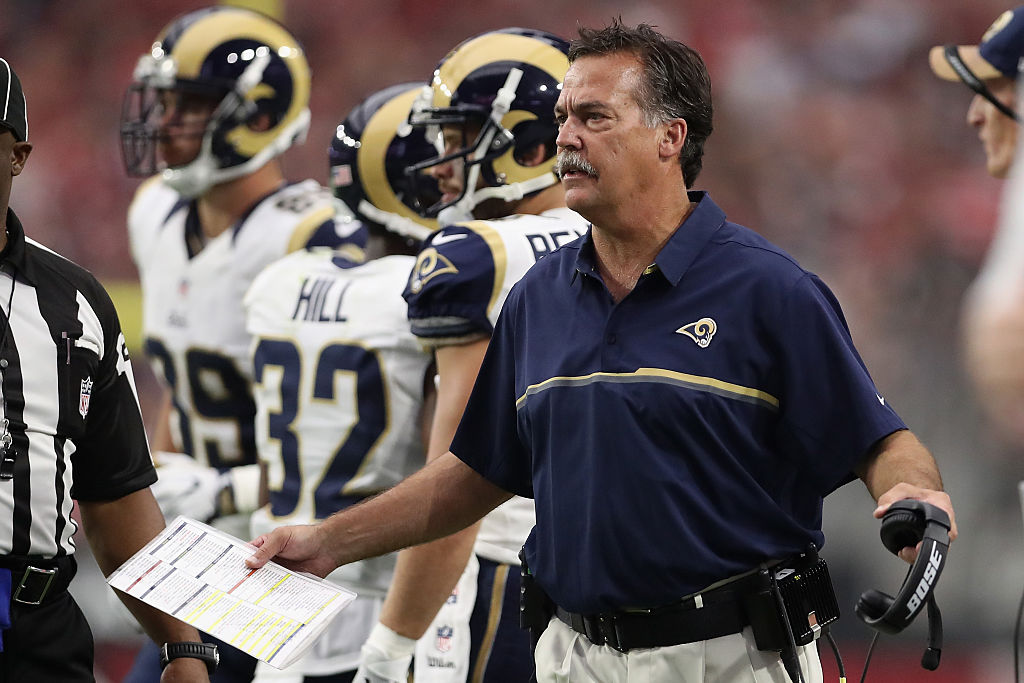 Jeff Fisher foi demitido pelo Los Angeles Rams