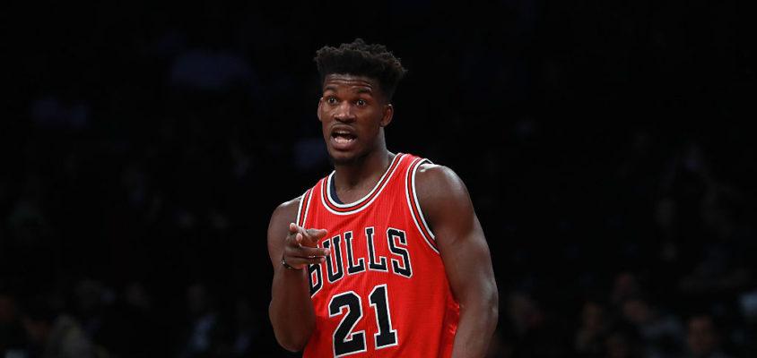 Jimmy Butler é um dos destaques do Chicago Bulls