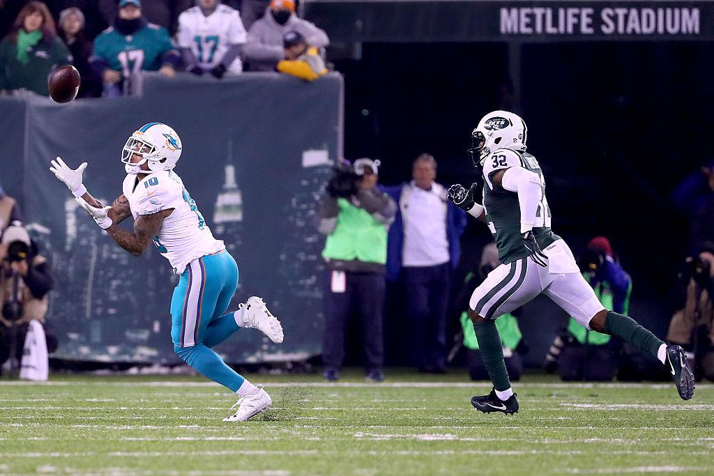 Kenny Stills faz recepção em vitória dos Dolphins sobre Jets