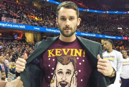 Técnico do Cleveland Cavaliers quer que Kevin Love seja mais acionado nos ataques da equipe - The Playoffs