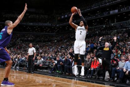 Nets vencem Hornets com bola de três pontos no estouro do cronômetro - The Playoffs