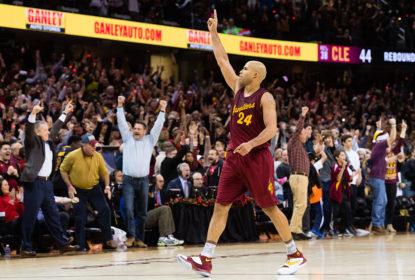 Richard Jefferson brilhou em vitória dos Cavaliers sobre Warriors