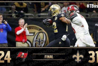 Saints vencem Buccaneers e Sean Payton alcança 100ª vitória - The Playoffs