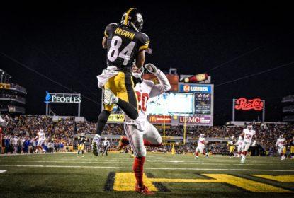 Em jogo de muitas chances, Steelers conseguem vitória contra Giants - The Playoffs