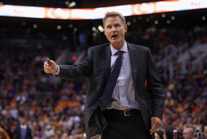 Steve Kerr é técnico do Golden State Warriors