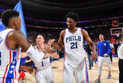 Com cesta de Covington nos instantes finais, Philadelphia 76ers vence o Portland Trail Blazers - The Playoffs