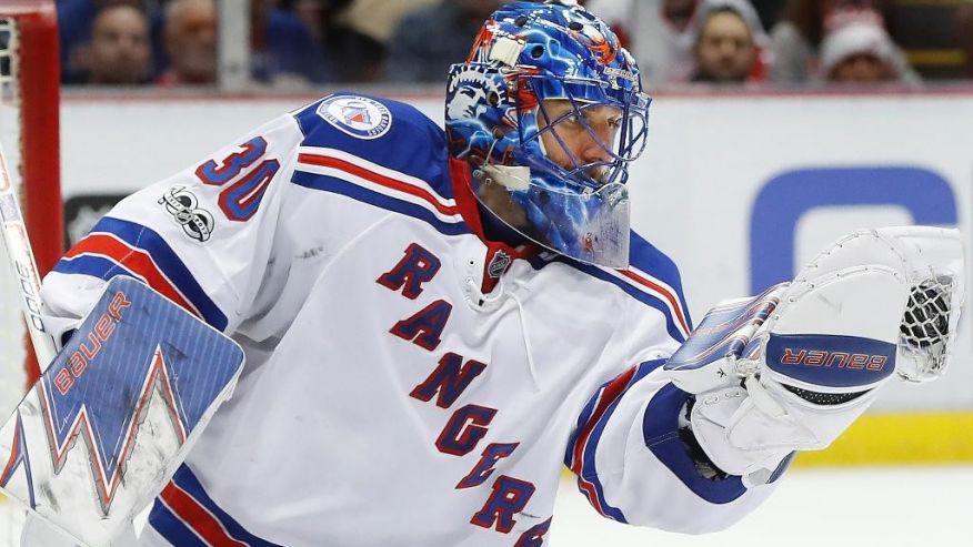 Henrik Lundqvist brilha, e Rangers vencem Red Wings por 1 a 0 - The Playoffs