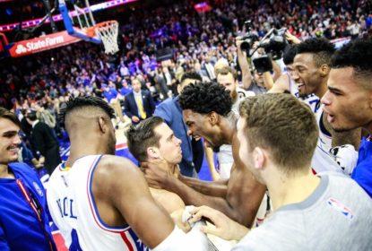 Com arremesso no último segundo, 76ers vencem Knicks em casa - The Playoffs