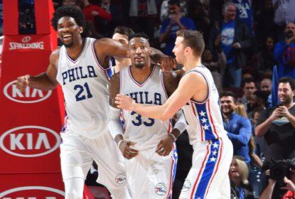 Covington mata bola no fim e 76ers vencem os Wolves - The Playoffs