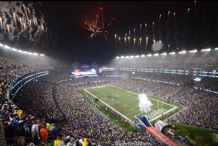 De 2002 pra cá, Patriots só perdeu 3 jogos em casa