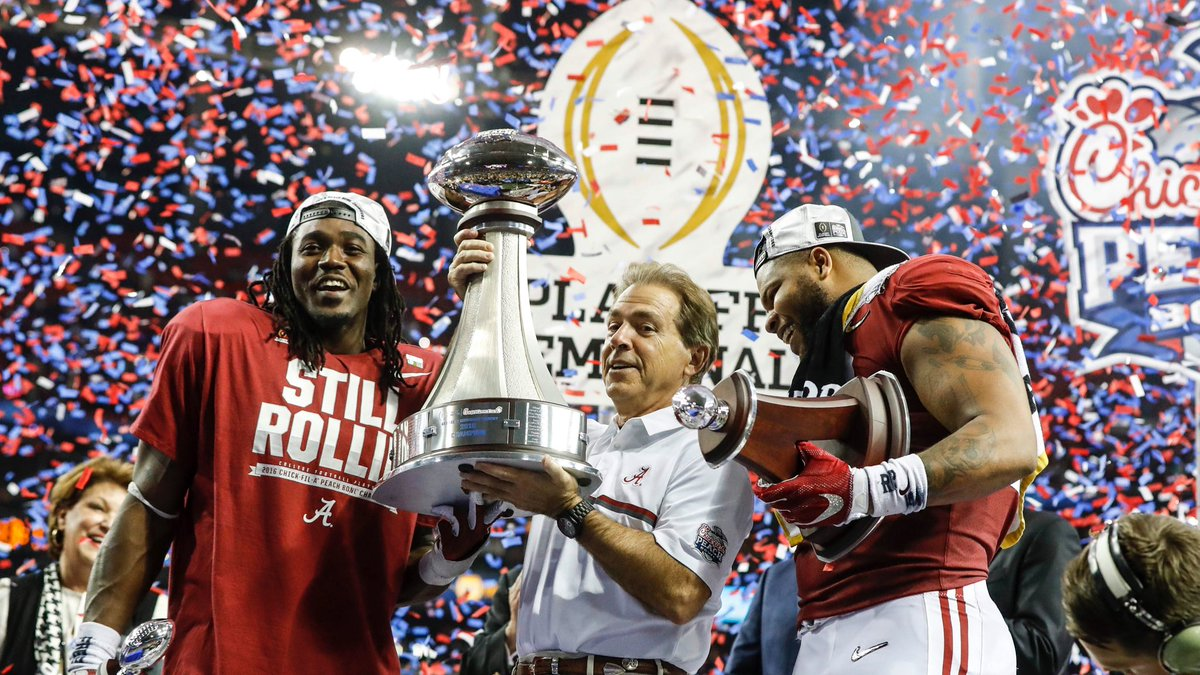 Alabama vence o Peach Bowl