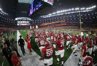 Alabama, enfim, assume liderança do ranking do College Football - The Playoffs