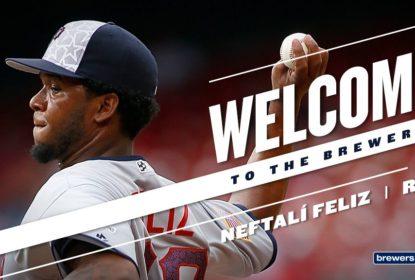 Milwaukee Brewers fecha contratação de Neftali Feliz por um ano - The Playoffs