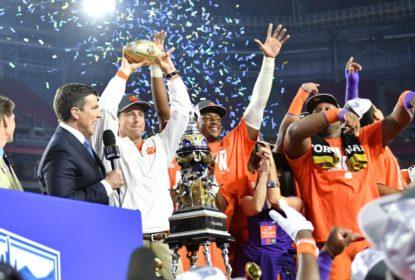 Watson é MVP e Clemson destrói Ohio State para vencer Fiesta Bowl - The Playoffs