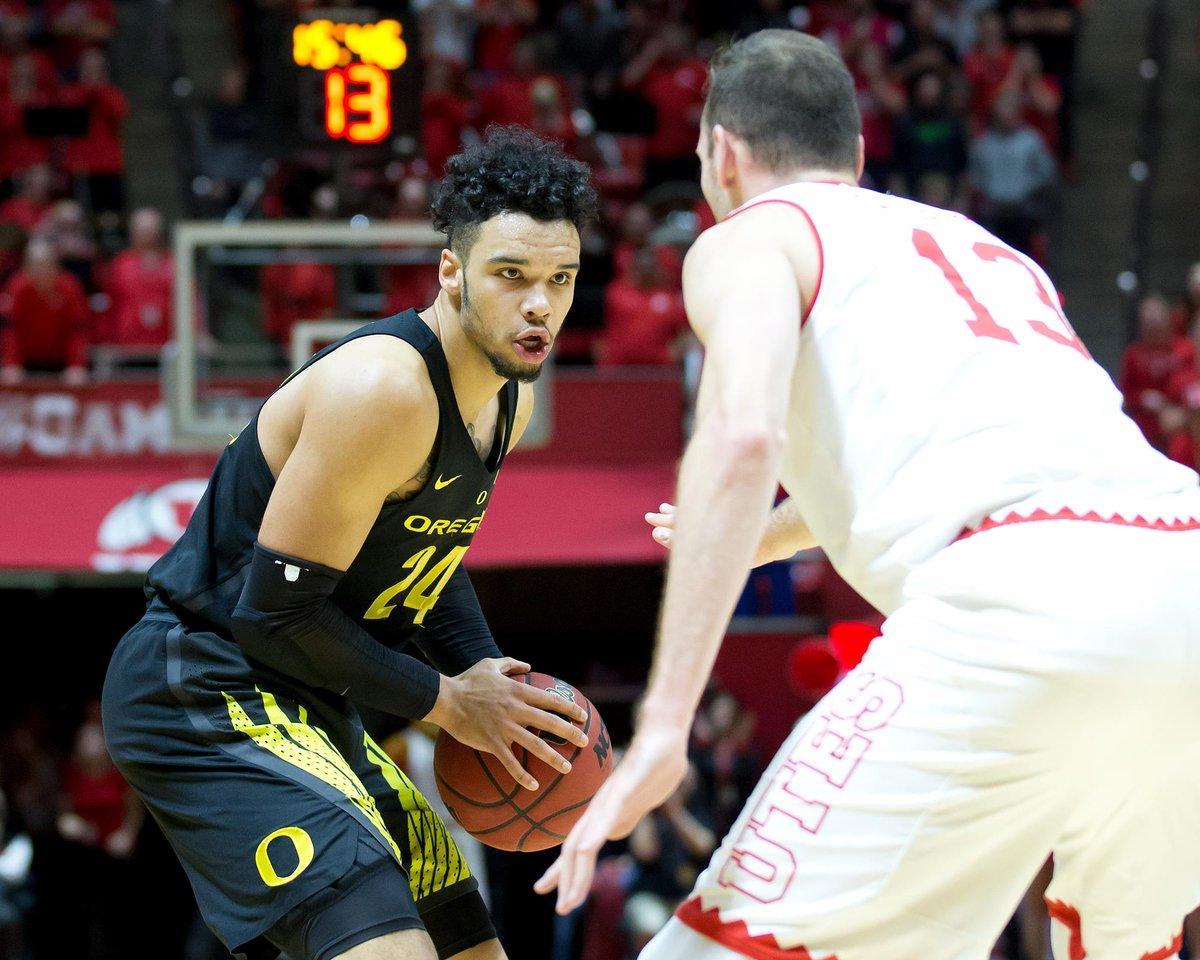 Dillon Brooks comanda Oregon em vitória sobre Utah