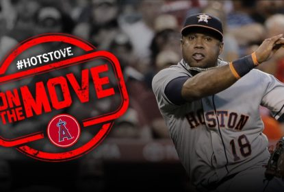 Luis Valbuena fecha com Los Angeles Angels - The Playoffs