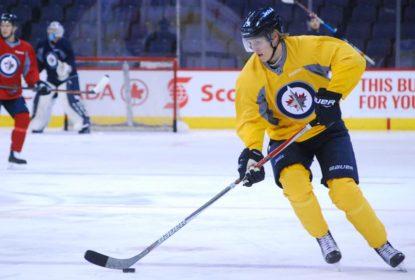 Patrik Laine volta a treinar com a equipe do Winnipeg Jets - The Playoffs