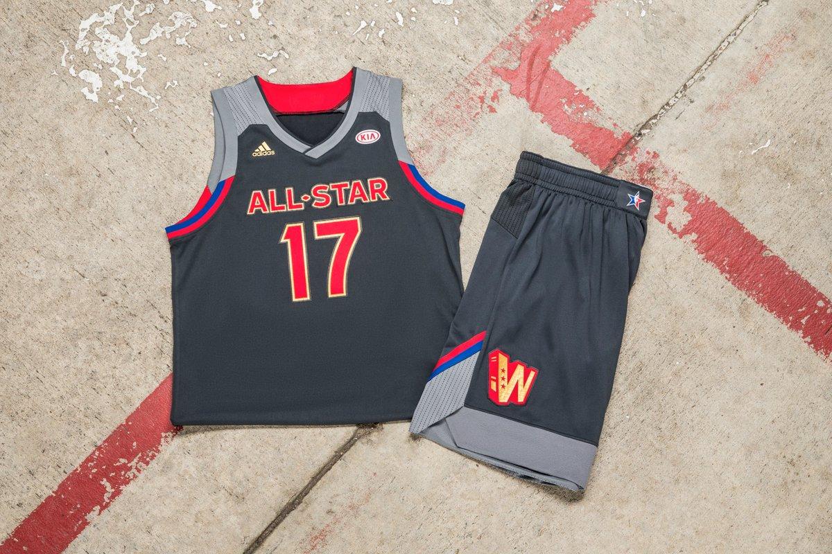 49a3bf6d9e O All-Star Weekend é um dos pontos altos da temporada da NBA. Desde os  primeiros jogos disputados a liga faz uniformes para os times que  representam suas ...