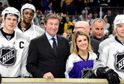 Simmonds enaltece participação de Gretzky no All-Star Game da NHL - The Playoffs