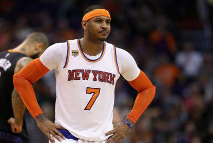 Carmelo Anthony diz que esta é a pior temporada dos Knicks nos últimos anos - The Playoffs