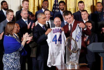 Chicago Cubs recebe homenagens em visita à Casa Branca - The Playoffs