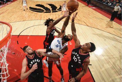 Com massacre no terceiro período, Raptors derrotam Knicks - The Playoffs