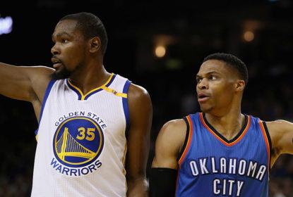 Durant e Westbrook se enfrentaram mais uma vez