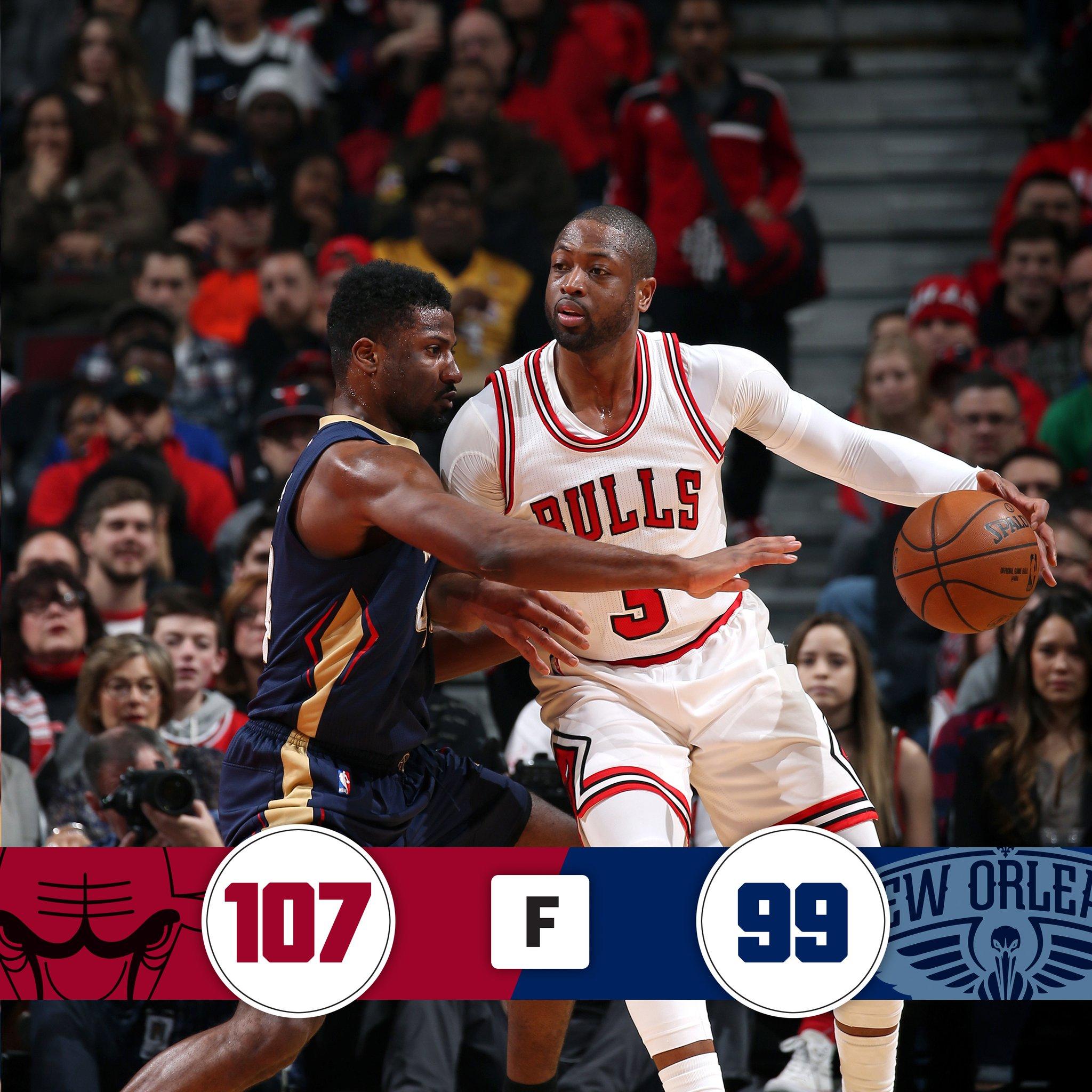 Dwyane Wade faz 17 pontos no ultimo periodo para vitória do Bulls