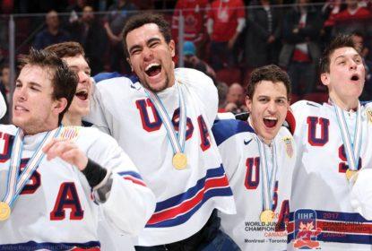 Em jogo decidido nos shootouts, EUA vencem Canadá e conquistam Mundial Júnior de Hóquei - The Playoffs