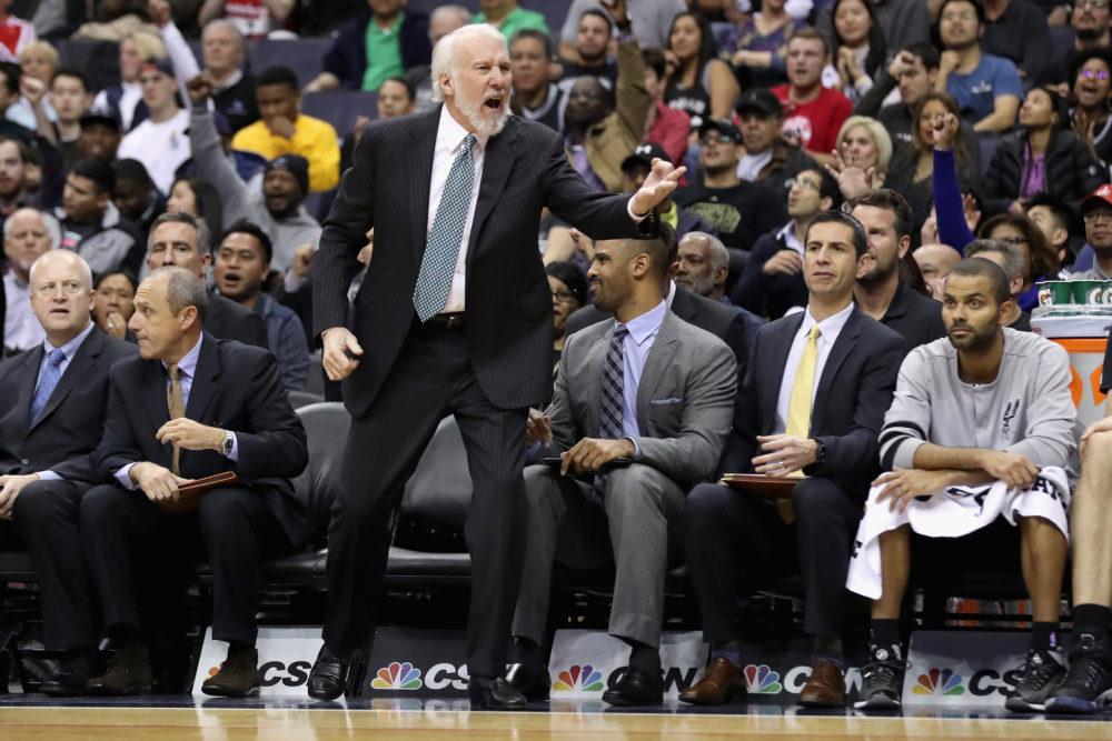Gregg Popovich está insatisfeito com desempenho dos Spurs