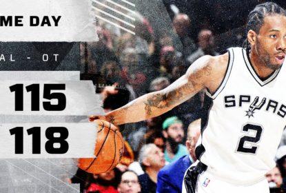 San Antonio Spurs vence Cleveland Cavaliers na prorrogação - The Playoffs