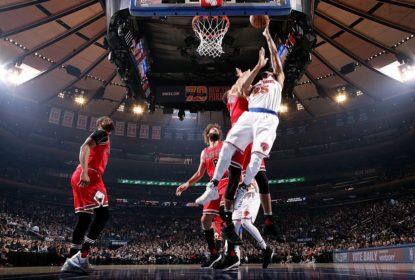 Com grande partida coletiva, Knicks ganham dos Celtics fora de casa - The Playoffs