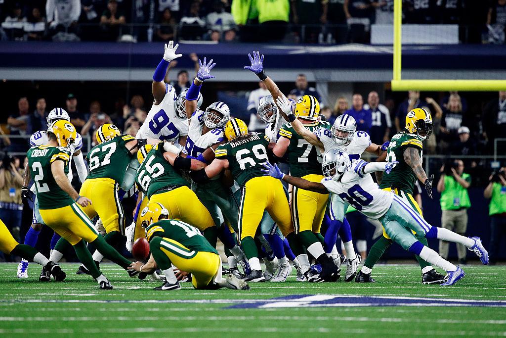 Mason Crosby decide vitória dos Packers contra os Cowboys