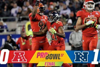 Em Orlando, AFC vence NFC no Pro Bowl com emoção do começo ao fim - The Playoffs