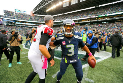 Duelo entre Atlanta Falcons e Seattle Seahawks