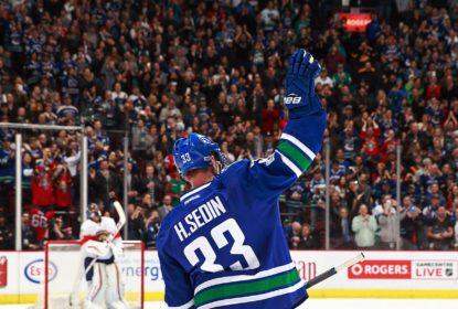 Henrik Sedin chega a 1.000 pontos em vitória do Vancouver Canucks - The Playoffs
