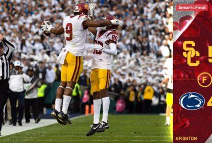 Em final alucinante, USC converte field goal nos últimos segundos e conquista o Rose Bowl - The Playoffs