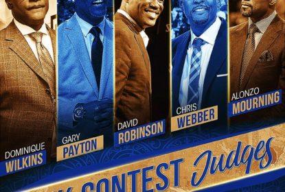 NBA anuncia os juízes do desafio de enterradas do All-Star Game - The Playoffs