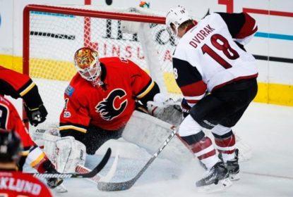 Numa atuação irretocável, Arizona Coyotes derrota Calgary Flames - The Playoffs