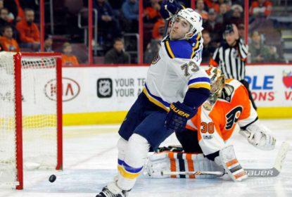 Com show defensivo, Blues vencem Flyers por 2 a 0 - The Playoffs