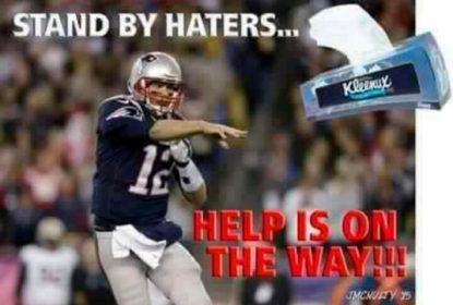 Título dos Patriots sobre os Falcons no Super Bowl LI gera zoeira na internet - The Playoffs