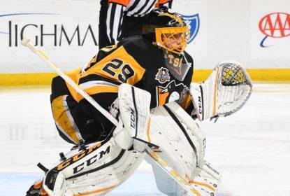 Pittsburgh Penguins quer continuar com o goleiro Marc-André Fleury - The Playoffs