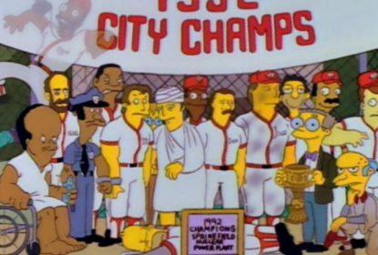 """""""Os Simpsons"""" serão homenageados pelo Hall da Fama do Beisebol - The Playoffs"""