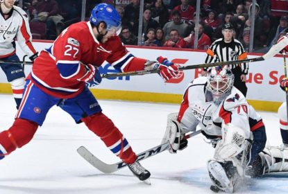 Washington Capitals vence o Montréal Canadiens e lidera a NHL