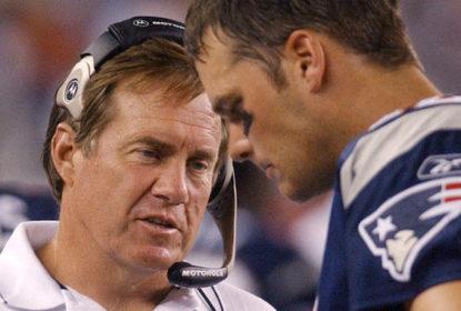 """Após especulações, Brady rasga elogios a Belichick: """"Melhor técnico da história"""" - The Playoffs"""