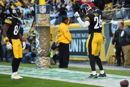 Antonio Brown e Le'Veon Bell formam dupla de ataque dos Steelers
